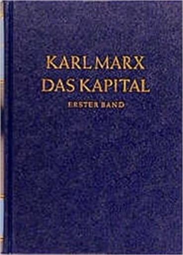 Buchcover Karl Marx - das Kapital